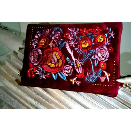 Cartera estampado trendy