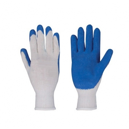 Guantes latex en palma