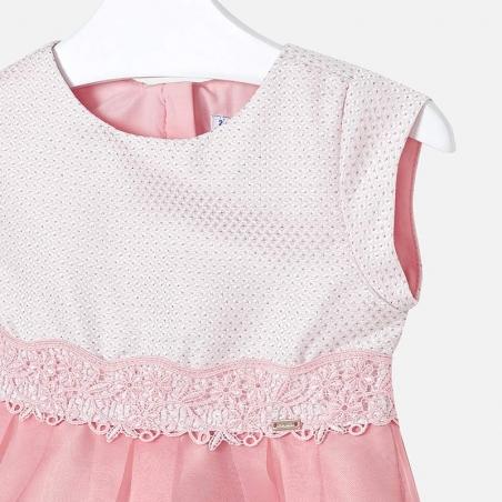 Vestido infantil liso MH 3911
