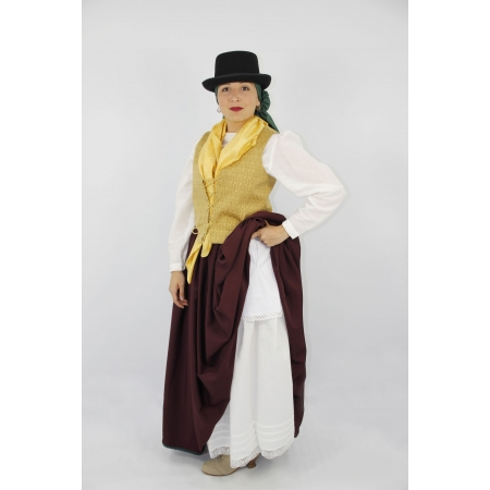 Falda típica canaria