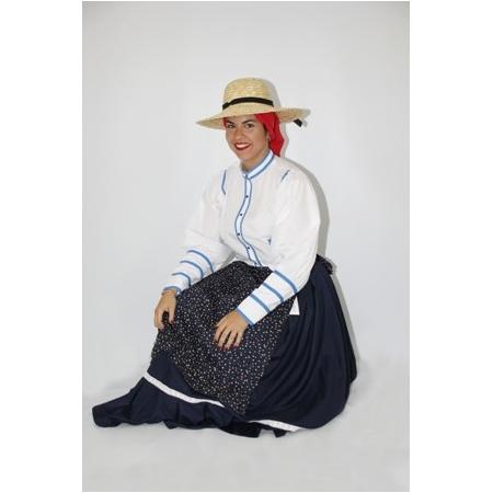 Blusa canario mujer