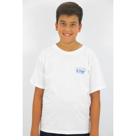 Camiseta colegial Aldea Blanca